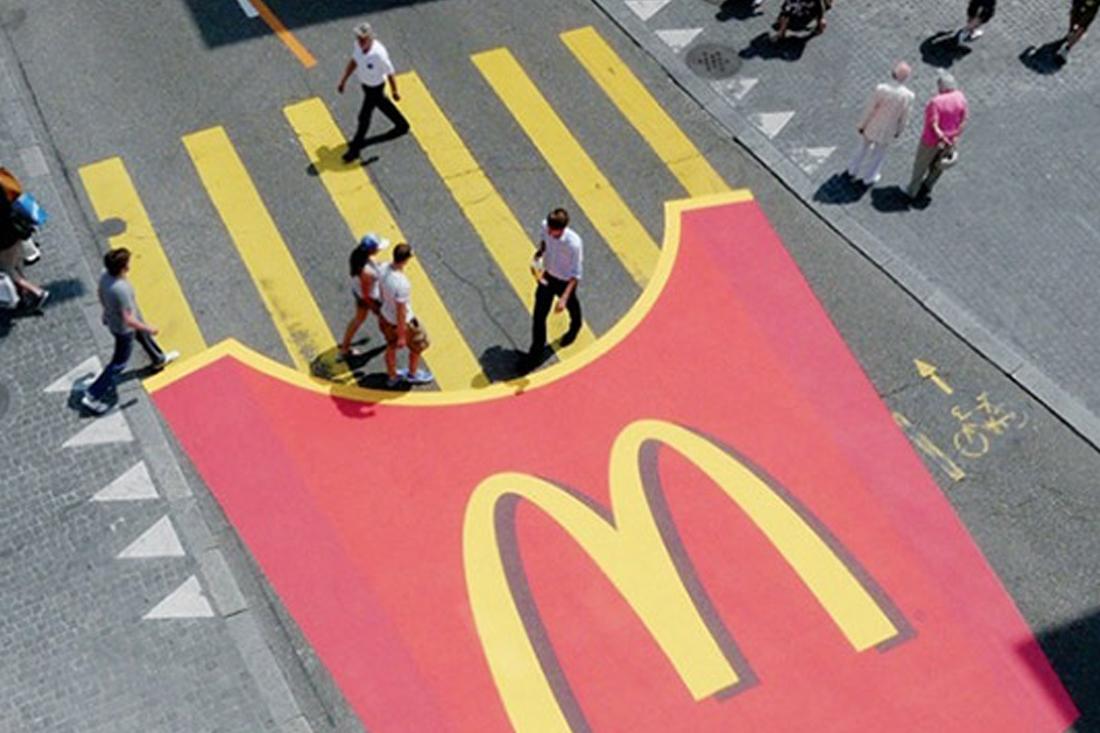 Guerrilla Marketing McDonald example